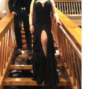 Fashion Nova Dresses - Black formal mermaid dress fashion nova